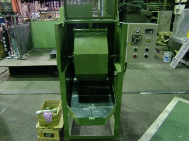 回転バレル研磨機 TK-100型 寸動運転付き 標準機