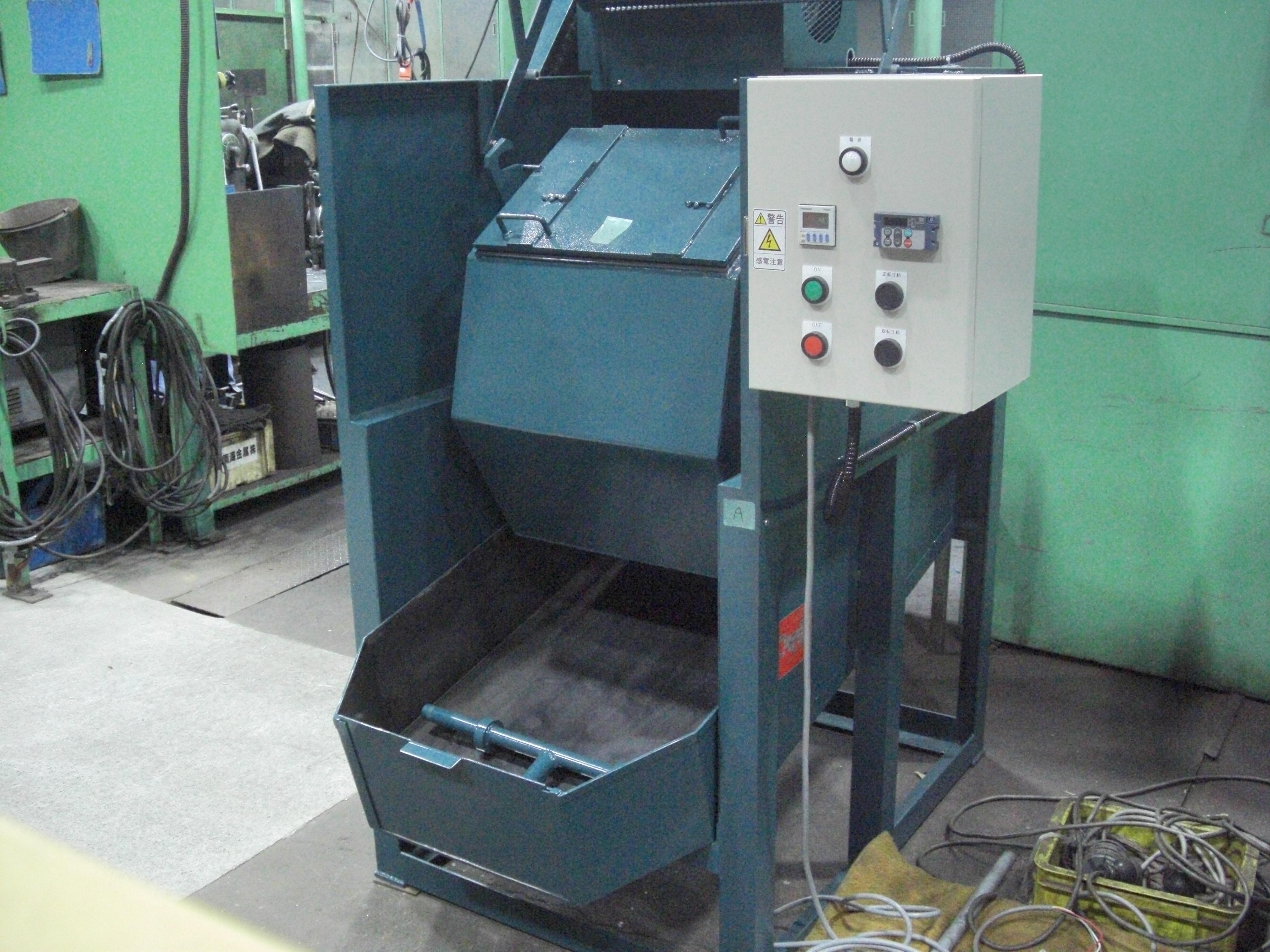 回転バレル研磨機 TK-200型 寸動運転付き 標準機