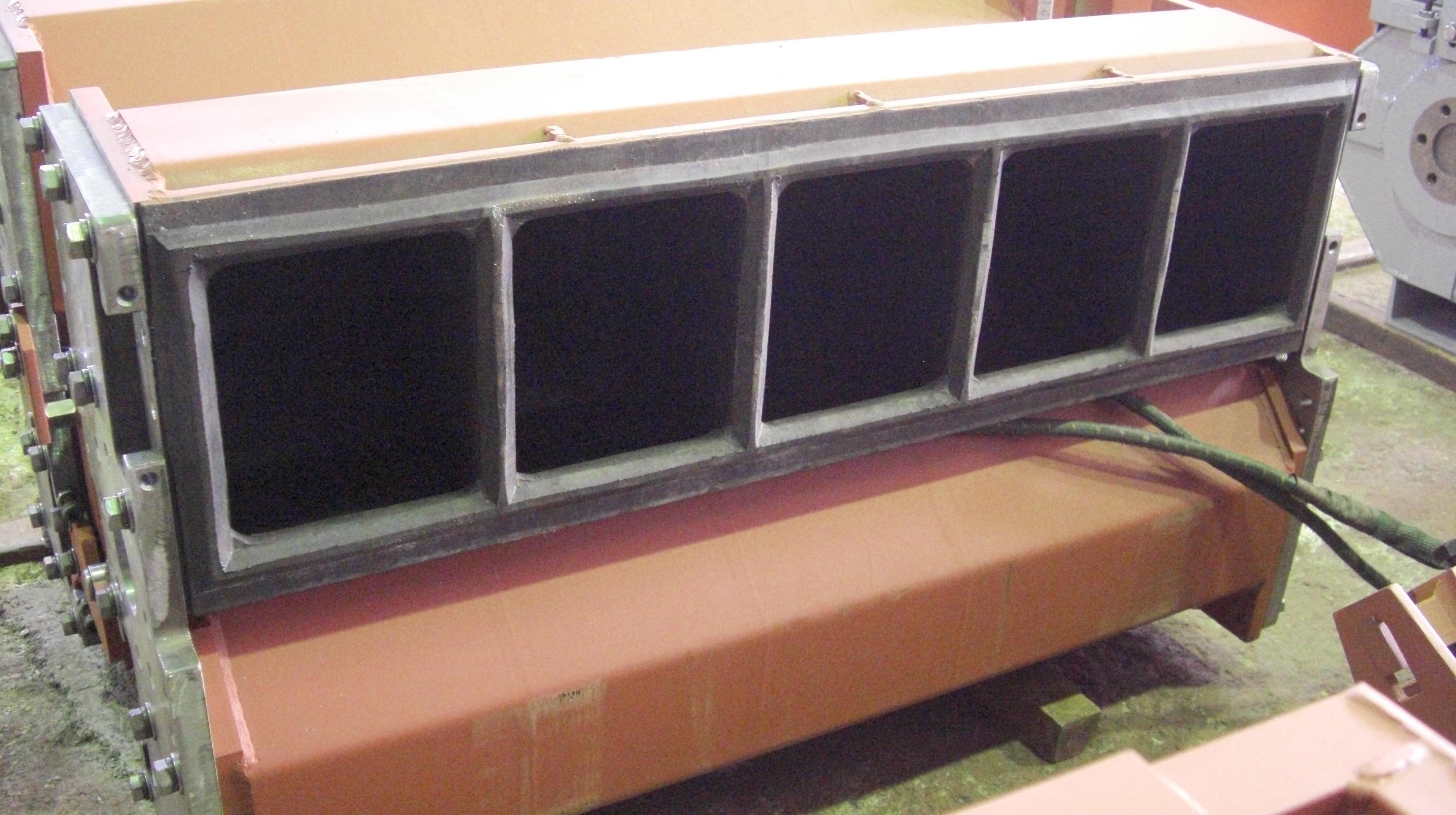 遠心バレル機 TAB-504用 多室式ポット 10室式