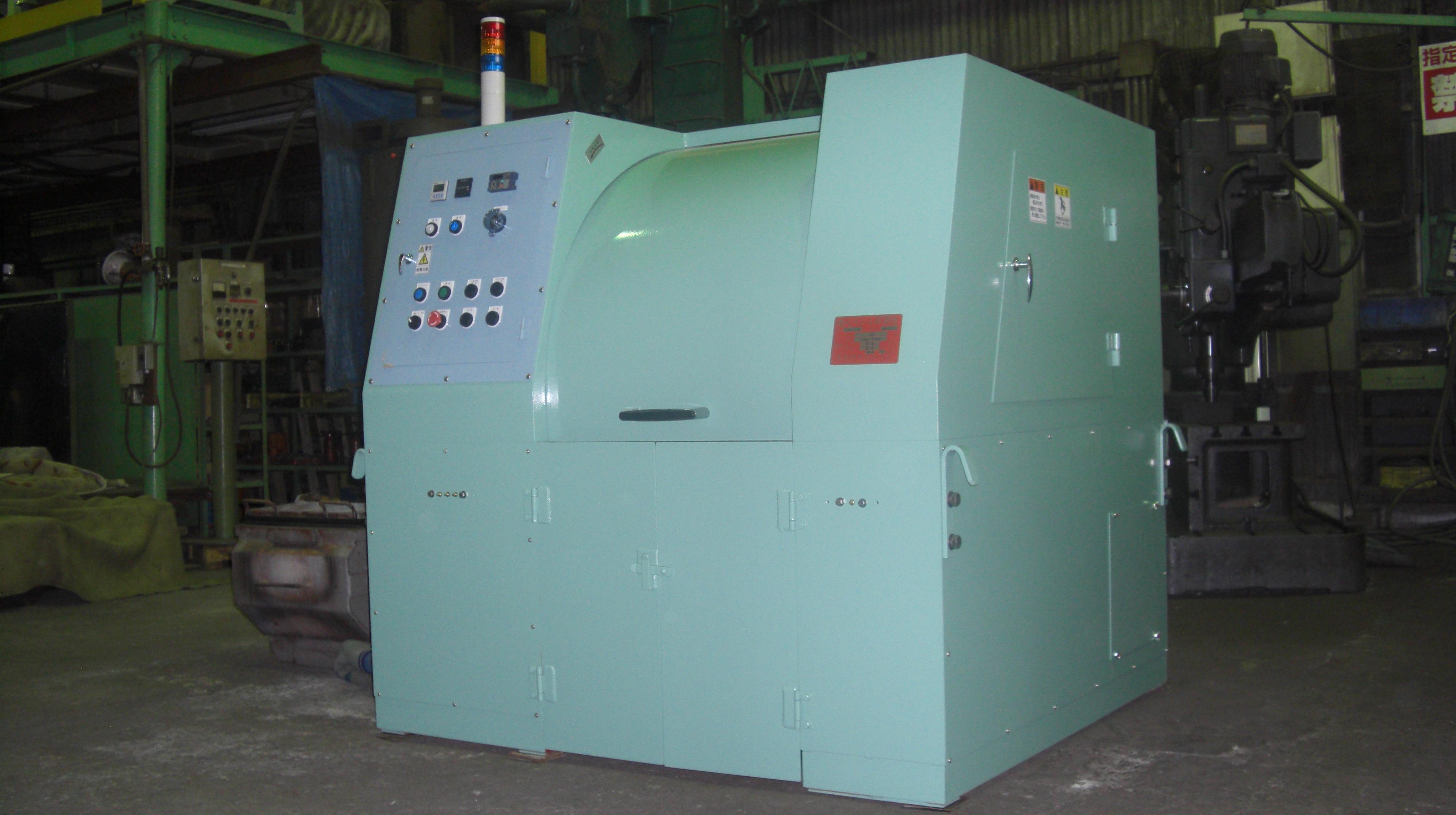 遠心バレル研磨機 TAB-304GB型 30L×4槽 カム式ポット