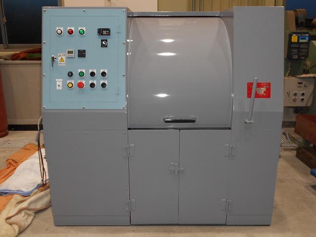 遠心バレル研磨機 TAB-304GB型 丸ポット仕様